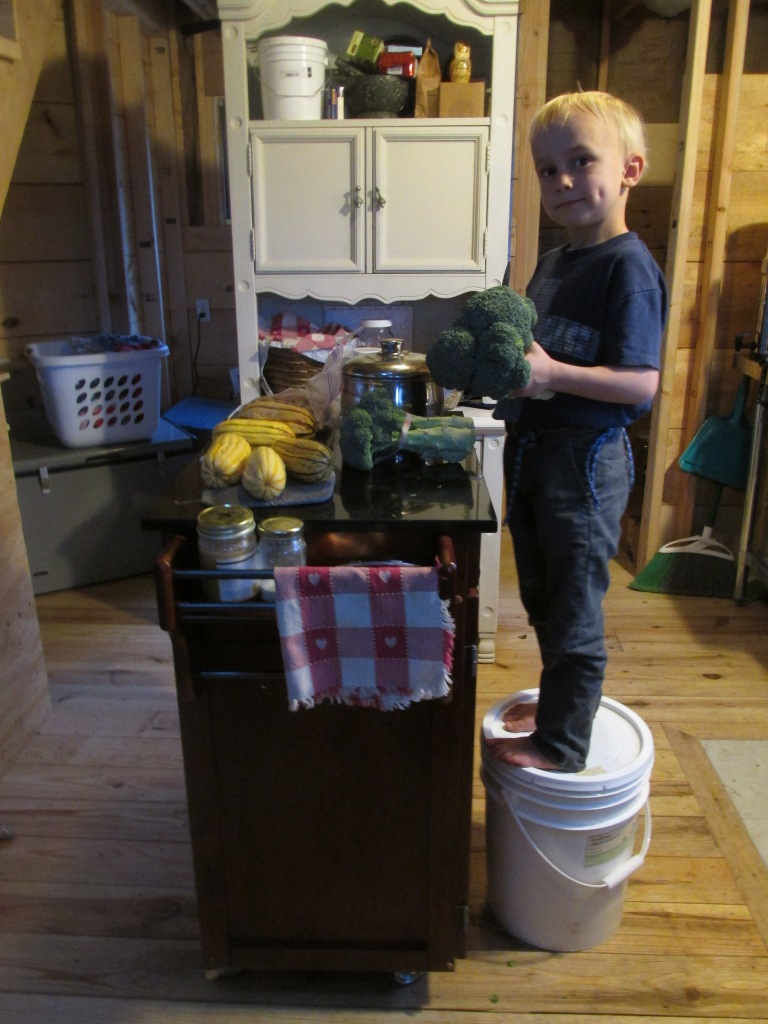 . . . this kitchen island with a cabinet has been a life safer.  Thank you Finestones!
